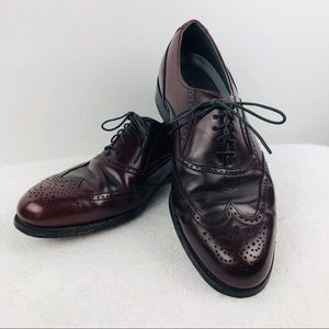 Dexter USA Oxblood Wingtip Oxford Dress Shoes